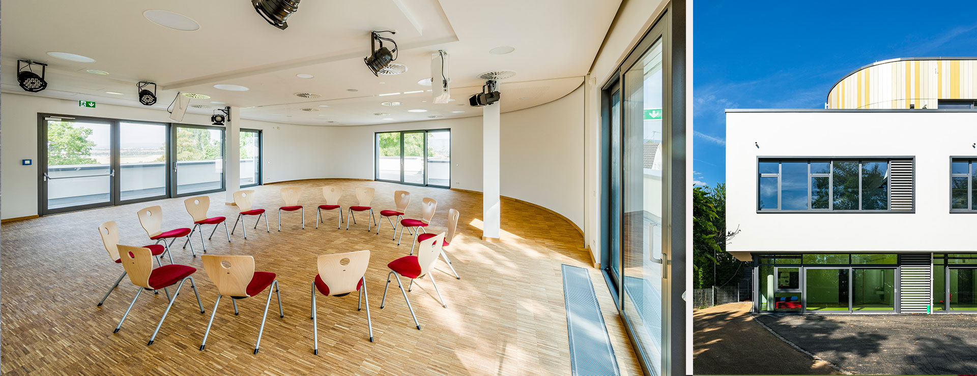 BGF+ Architekten: Einwiehungsfeier Peter-Rosegger-Schule in Wiesbaden