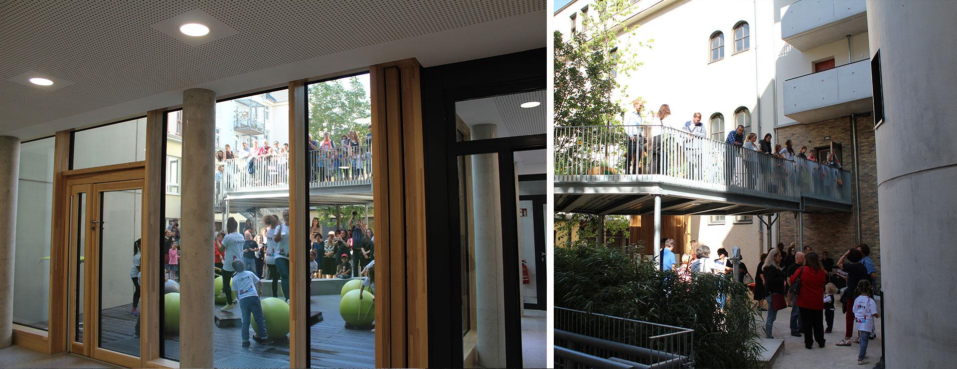 BGF+ Architekten_KITA und Studentenwohnheim Frankfurt-Nordend
